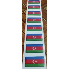 "объем. Флаг ""Азербайджан"" упаковка - 8 шт."