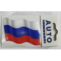 "объем. ""флаг RUS (развевающийся)"""