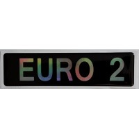 """объем. """"EURO 2"""" металлизированная"""