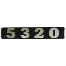 """объем. модификация КАМАЗ """"5320"""" металлизированная, черный"""