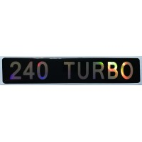 """объем. """"240 TURBO"""""""