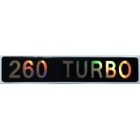 """объем. """"260 TURBO"""""""