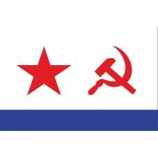 """наклейка """"флаг ВМФ СССР"""", упаковка - 4 шт."""