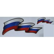 брызги RUSSIA-флаг, комплект 2+2 шт.