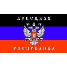 """""""флаг Донецкая республика"""" упаковка - 5 шт."""
