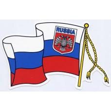 RUS-флаг (вырезанная) комплект (5+5)
