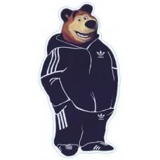 """""""медведь"""" (черный) упаковка - 10 шт."""