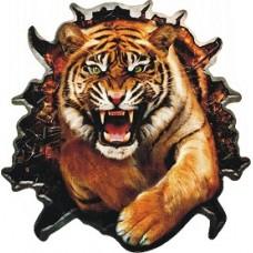"""наклейка """"Тигр (разрыв)"""""""
