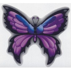 бабочка фиолет, упаковка - 5 шт.