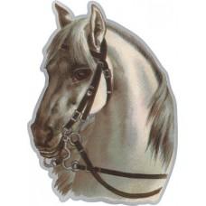 """наклейка """"лошадь №2 (морда)"""""""