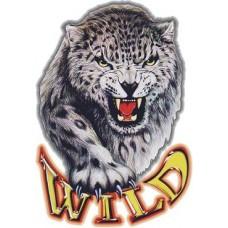"""наклейка """"рысь wild"""""""