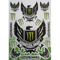 """наклейка """"monster army"""""""