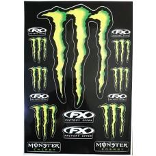 """наклейка """"Monster FX"""""""