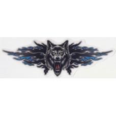 брызги Волк (ярость), синий