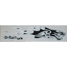 брызги King Drift (черный+серебро) комплект 2 шт.
