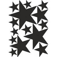 звезды (черный) от 18 до 5,5