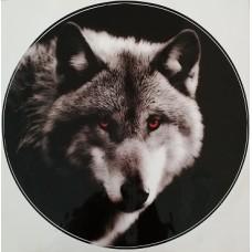 """наклейка """"Волк (полярный)"""""""