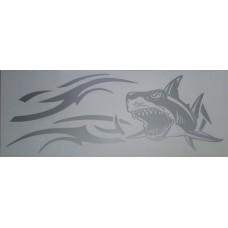 акула (серебро) комплект 2 шт.