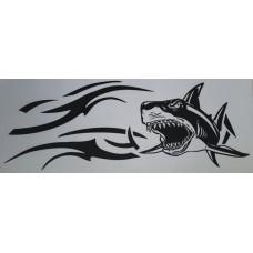 акула (черный) комплект 2 шт.