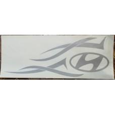 Hundai (серебро) комплект 2 шт.