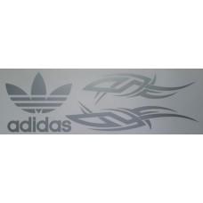 adidas (серебро) комплект 2 шт.