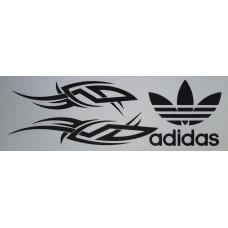adidas (черный) комплект 2 шт.