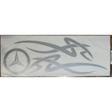 Mercedes (серебро) комплект 2 шт.
