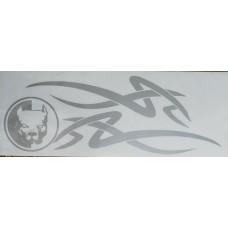 pitbull (серебро) комплект 2 шт.