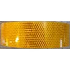 Лента светоотражающая микропризма Oracal Германия (желтая) (10 метров)
