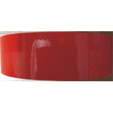 Лента светоотражающая микропризма Oracal Германия (красный) (10 метров)