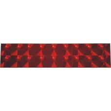полоски линзы 3 см (красный) комплект - 2 шт.