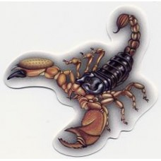 скорпион коричневый, упаковка - 10 шт.