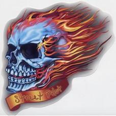 череп Street Pilot (с огнем) упаковка - 10 шт.