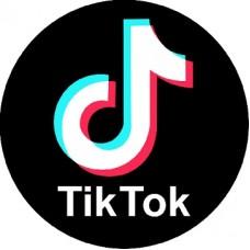 "наклейка ""Tik Tok"" упаковка - 10 шт."