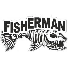 "наклейка ""fisherman"""