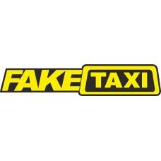 """наклейка """"FAKE TAXI (желтый)"""", упаковка - 5 шт."""