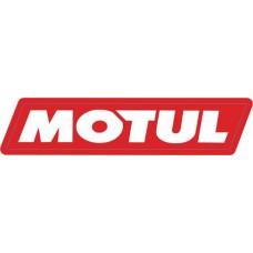 """наклейка """"motul"""" (красный фон) упаковка - 10 шт."""