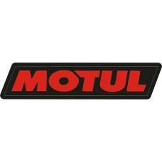 """наклейка """"motul"""" (черный фон) упаковка - 5 шт."""