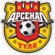 """наклейка """"ФК Арсенал Тула"""" упаковка - 5 шт."""