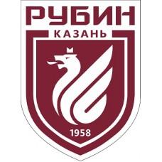 """наклейка """"ФК Рубин"""" упаковка - 5 шт."""