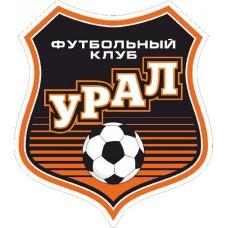 """наклейка """"ФК Урал"""" упаковка - 5 шт."""