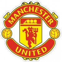 "наклейка ""Manchester United"" упаковка - 5 шт."