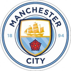 "наклейка ""Manchester city"" упаковка - 5 шт."