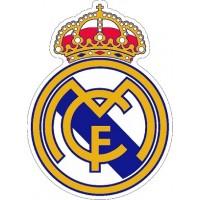 "наклейка ""Реал Мадрид"" упаковка - 5 шт."