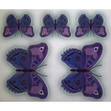 бабочки Индиго